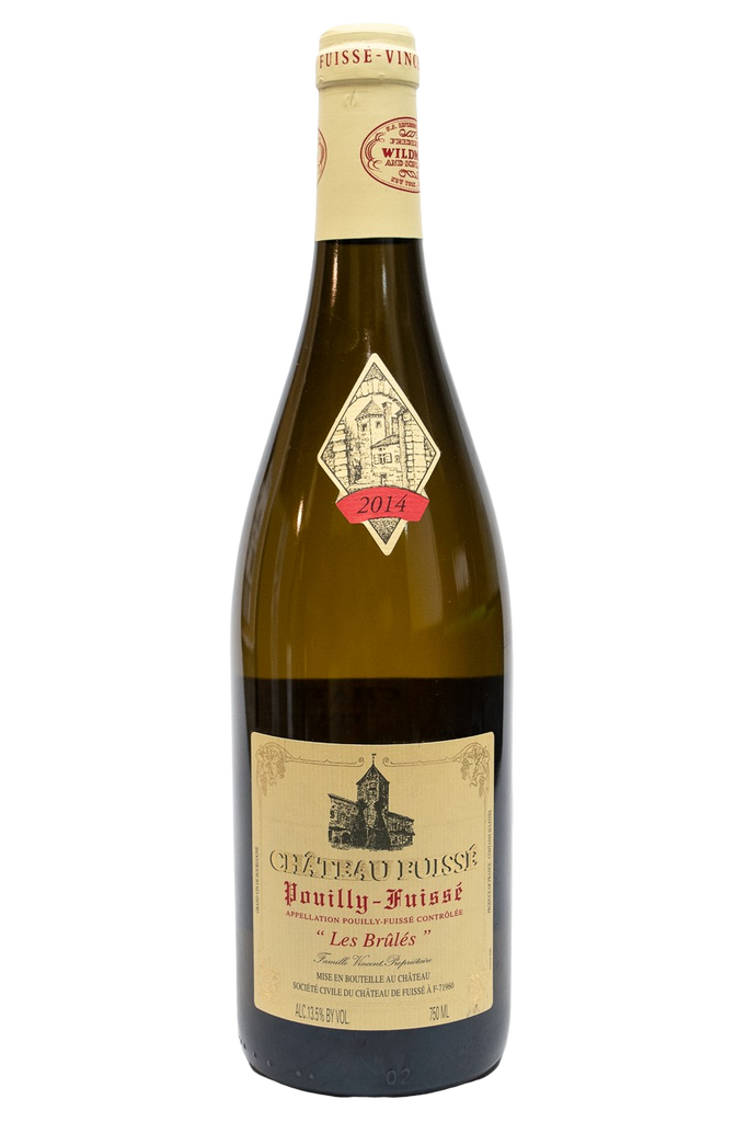 "Bottle of Chateau Fuisse, Pouilly-Fuisse ""Les Brules"", 2014 - Flatiron Wines & Spirits - New York"