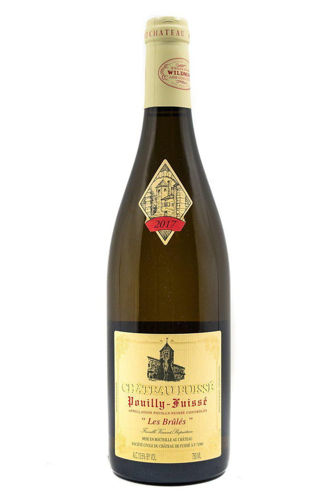 Bottle of Chateau Fuisse, Pouilly-Fuisse Les Brules, 2017 - Flatiron Wines & Spirits - New York