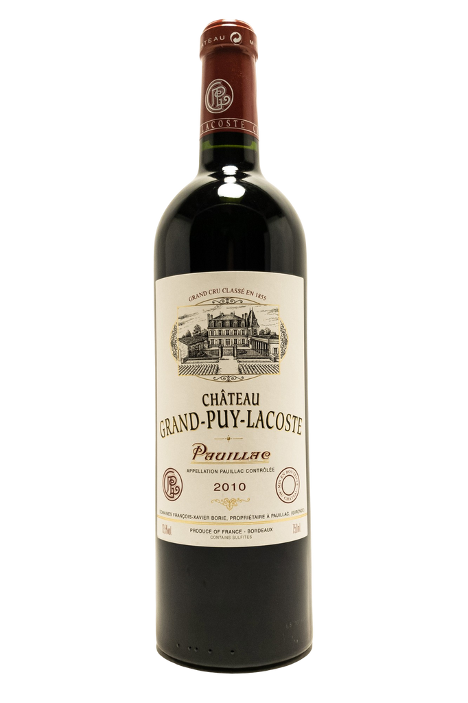 Bottle of Chateau Grand Puy Lacoste, Pauillac, 2010 - Flatiron Wines & Spirits - New York