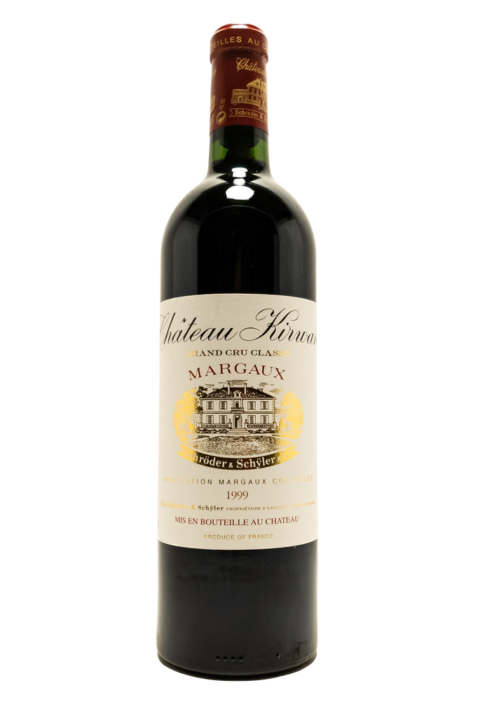 Bottle of Chateau Kirwan, Margaux, 1999 - Flatiron Wines & Spirits - New York