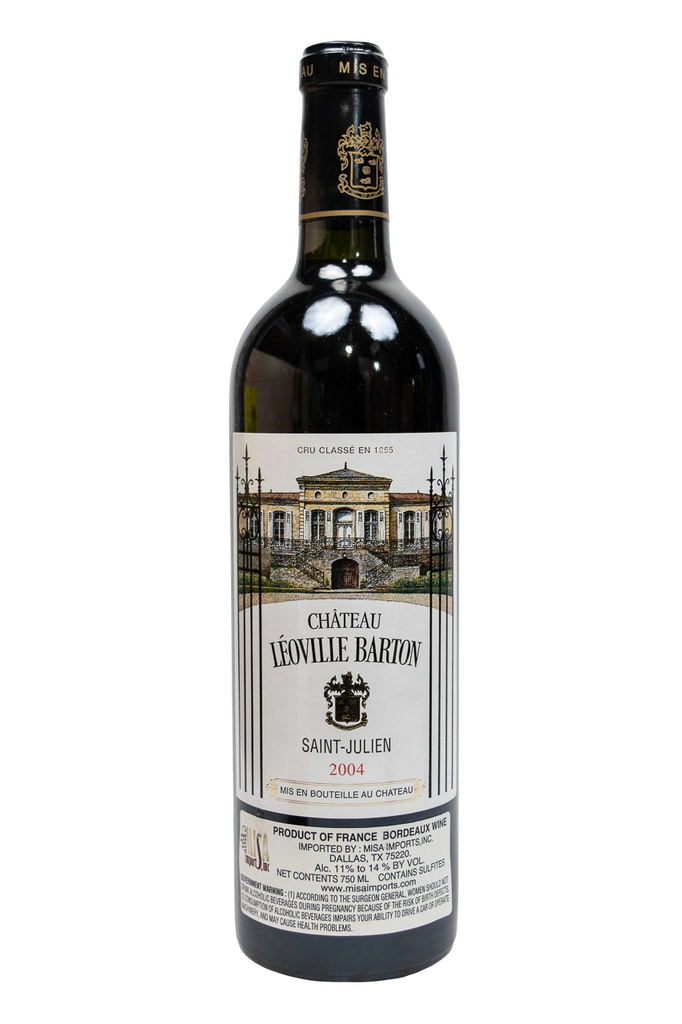 Bottle of Chateau Leoville Barton, Saint-Julien, 2004 - Flatiron Wines & Spirits - New York
