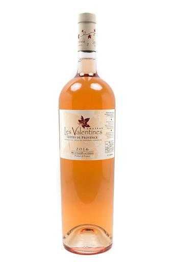 Bottle of Chateau Les Valentines, Cotes de Provence Rose, 2016 (1.5L) - Flatiron Wines & Spirits - New York