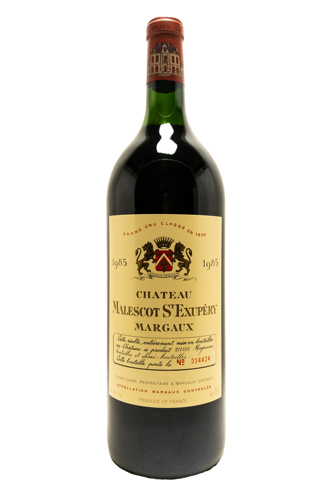 Bottle of Chateau Malescot Saint Exupery, Margaux, 1985 (1.5L) - Flatiron Wines & Spirits - New York