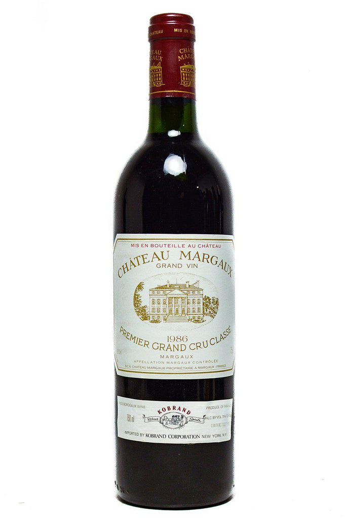 Bottle of Chateau Margaux, Margaux, 1986 - Flatiron Wines & Spirits - New York