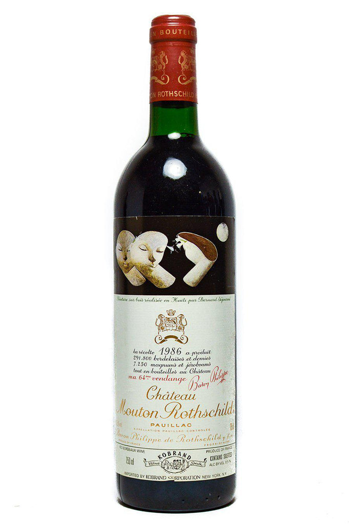 Bottle of Chateau Mouton-Rothschild, Pauillac, 1986 - Flatiron Wines & Spirits - New York