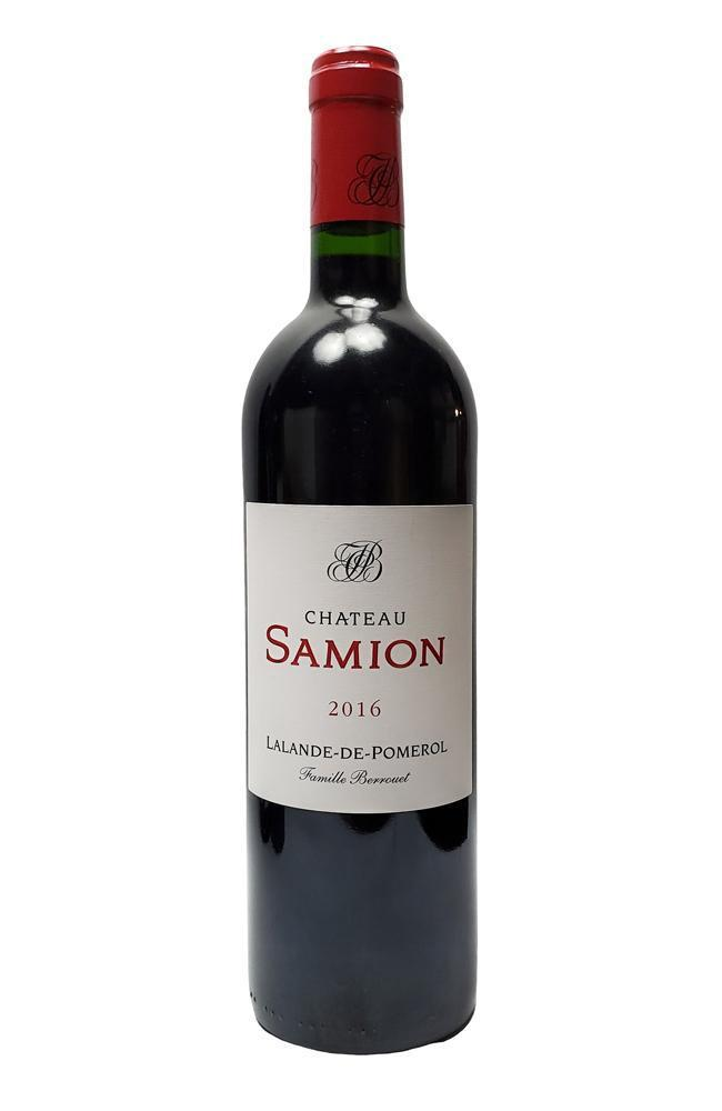 Bottle of Chateau Samion, Lalande-de-Pomerol, 2016 - Flatiron Wines & Spirits - New York