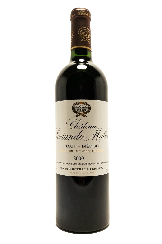 Bottle of Chateau Sociando Mallet, Haut-Medoc, 2000 - Flatiron Wines & Spirits - New York