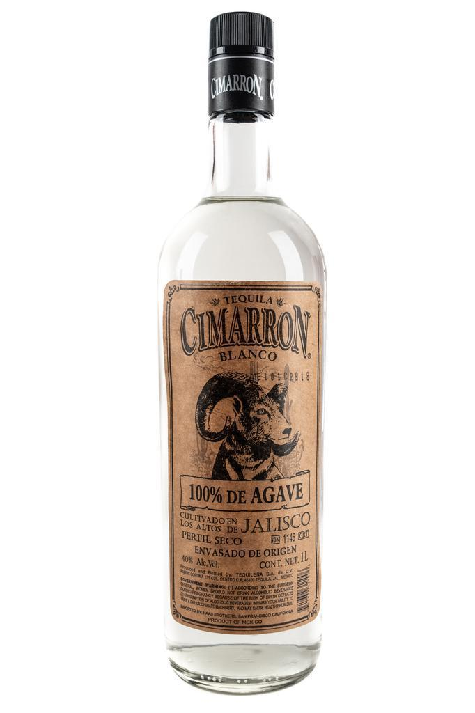 Bottle of Cimarron, Tequila Blanco, NV (1L) - Flatiron Wines & Spirits - New York