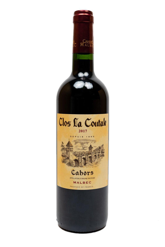 Bottle of Clos la Coutale, Cahors Malbec, 2017 - Flatiron Wines & Spirits - New York