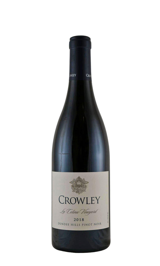 Bottle of Crowley Wines, Dundee Hills Pinot Noir La Colina, 2018 - Flatiron Wines & Spirits - New York