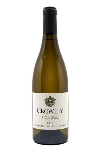 Bottle of Crowley Wines, Four Winds Chardonnay, 2016 - Flatiron Wines & Spirits - New York