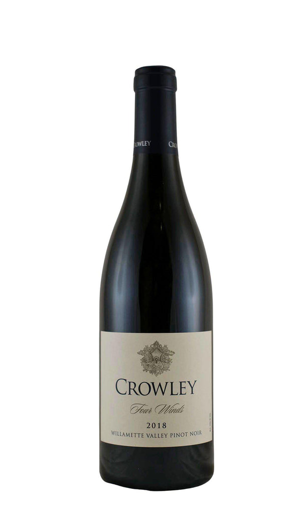 Bottle of Crowley Wines, Pinot Noir Four Winds Willamette Valley, 2018 - Flatiron Wines & Spirits - New York