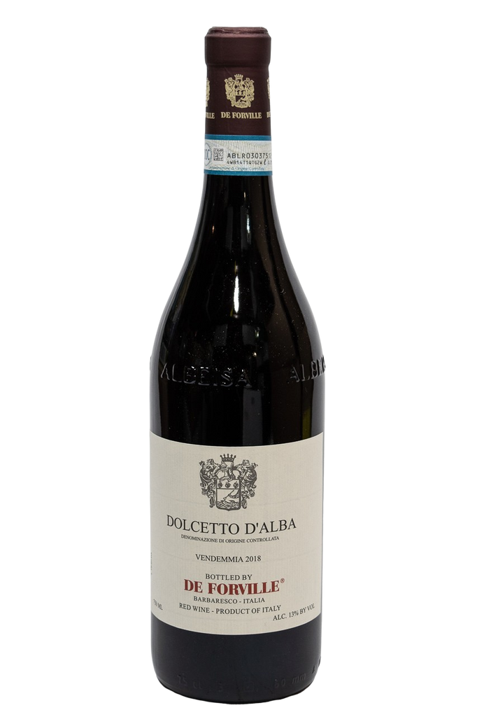 Bottle of De Forville, Dolcetto, 2018 - Flatiron Wines & Spirits - New York