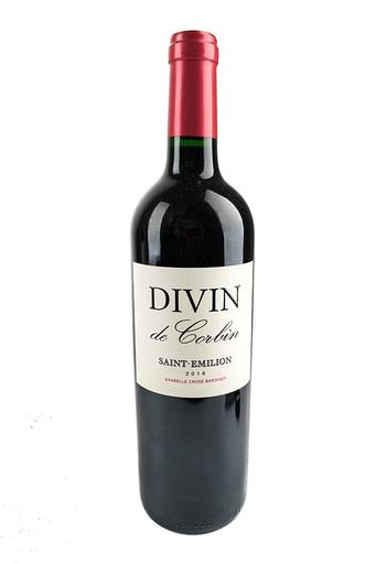 Bottle of Divin de Corbin, Saint-Emilion, 2016 - Flatiron Wines & Spirits - New York
