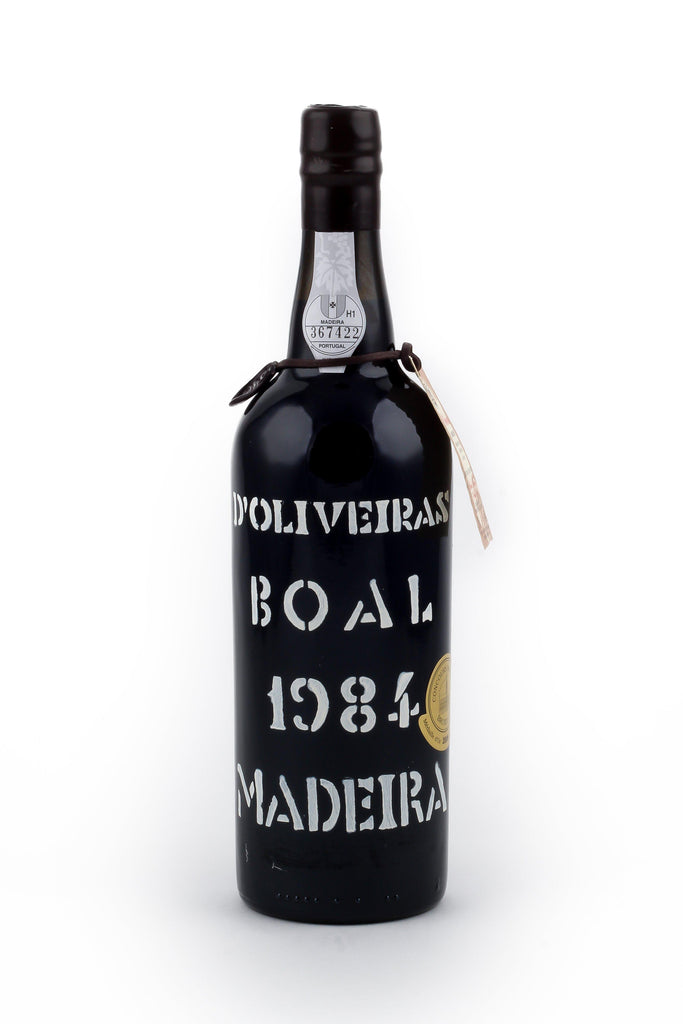 Bottle of D'Oliveira, Boal Madeira, 1984 - Flatiron Wines & Spirits - New York