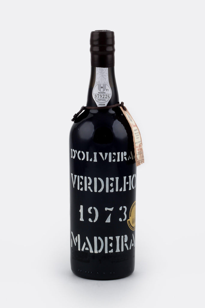Bottle of D'Oliveira, Verdelho Madeira, 1973 - Flatiron Wines & Spirits - New York