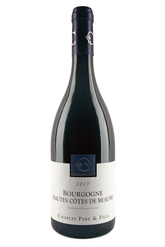 Bottle of Domaine Charles Pere & Fille, Bourgogne Hautes Cotes de Beaune Rouge, 2017 - Flatiron Wines & Spirits - New York