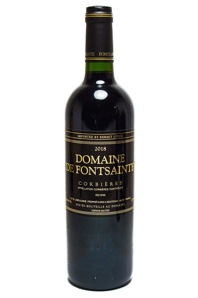 Bottle of Domaine de Fontsainte, Corbieres Rouge, 2018 - Flatiron Wines & Spirits - New York