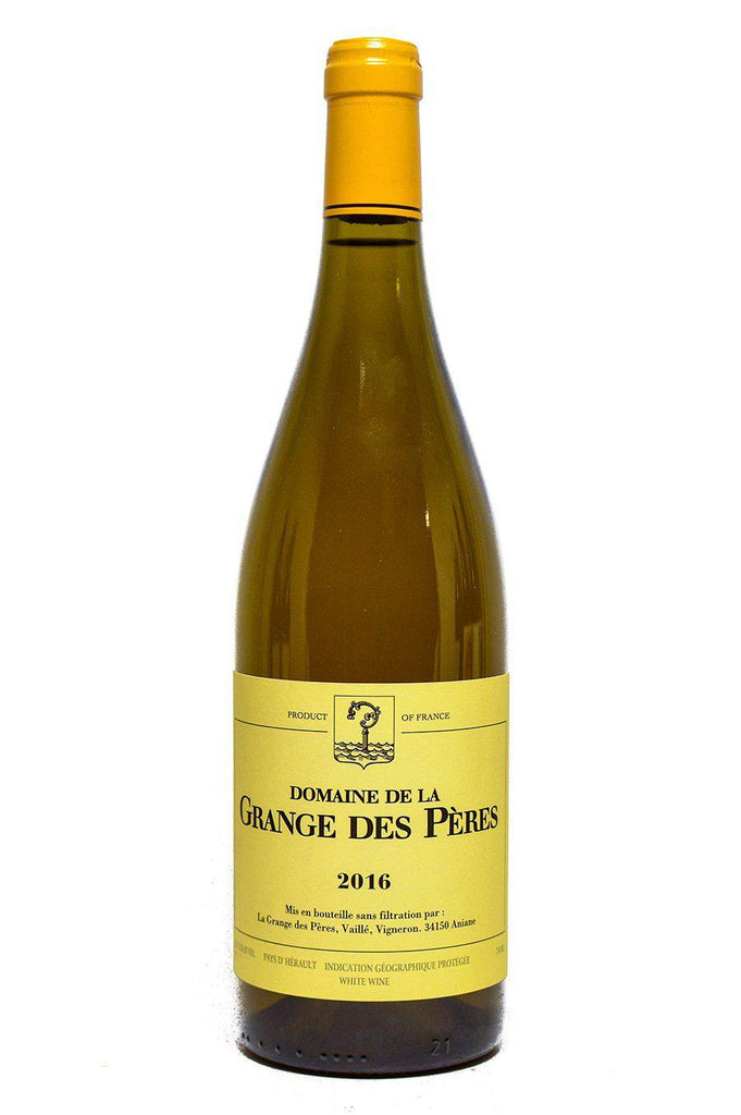 Bottle of Domaine de la Grange des Peres, Vin de Pays de l`Herault Blanc, 2016 - Flatiron Wines & Spirits - New York