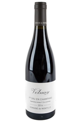 Bottle of Domaine de Montille, Volnay 1er Cru En Champans, 2016 - Flatiron Wines & Spirits - New York