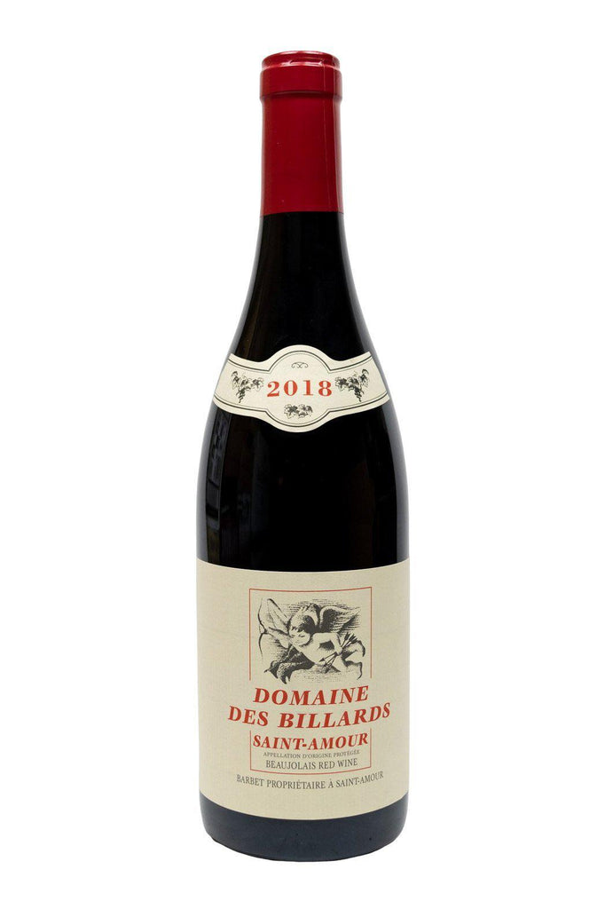 Bottle of Domaine des Billards (Barbet), Saint-Amour, 2018 - Flatiron Wines & Spirits - New York