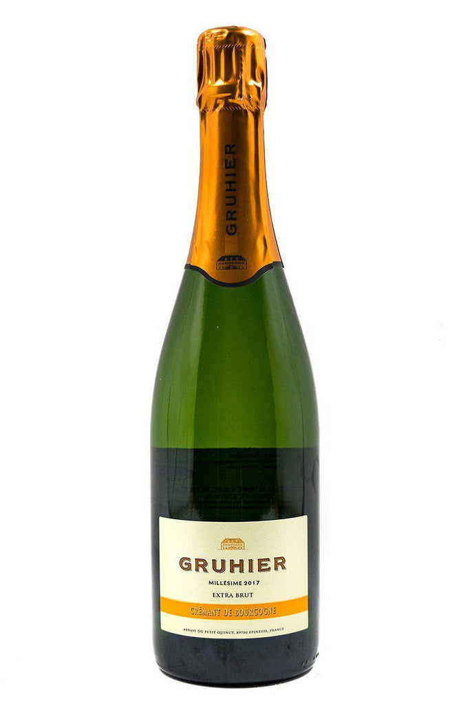 Bottle of Domaine Dominique Gruhier, Cremant De Bourgogne Extra Brut, 2017 - Flatiron Wines & Spirits - New York