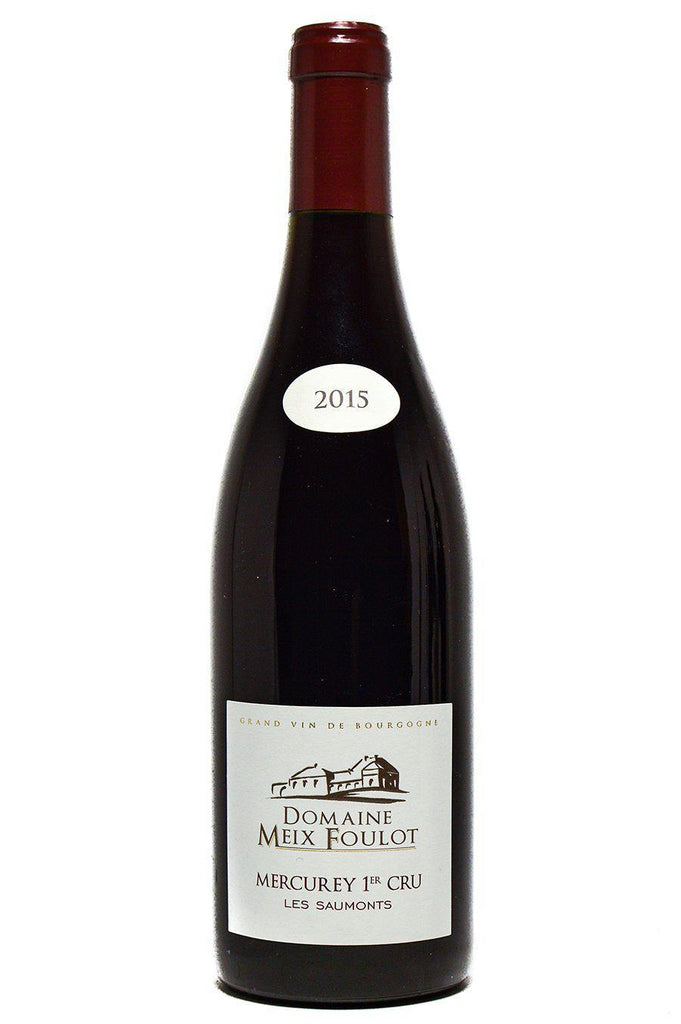 "Bottle of Domaine du Meix Foulot, Mercurey Rouge 1er Cru ""Les Saumonts"", 2015 - Flatiron Wines & Spirits - New York"