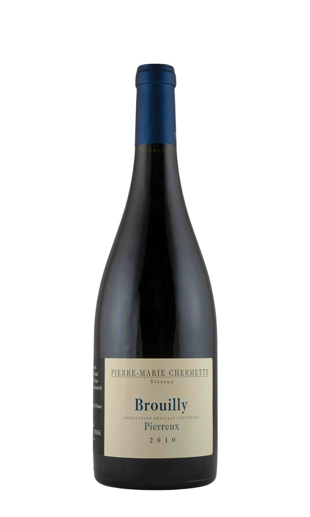 Bottle of Domaine du Vissoux (Pierre-Marie Chermette), Brouilly Pierreux, 2010 - Flatiron Wines & Spirits - New York