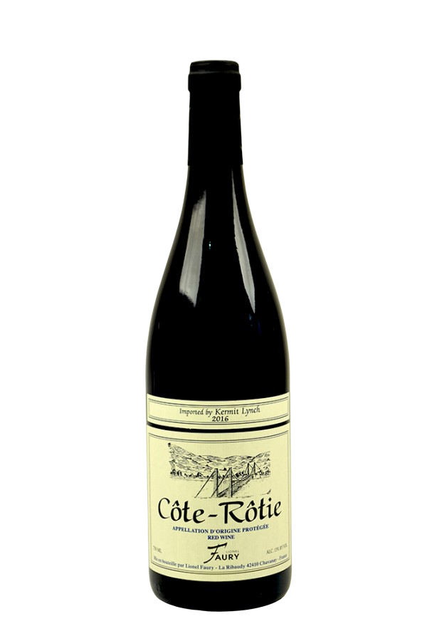 Bottle of Domaine Faury, Cote-Rotie, 2016 - Flatiron Wines & Spirits - New York