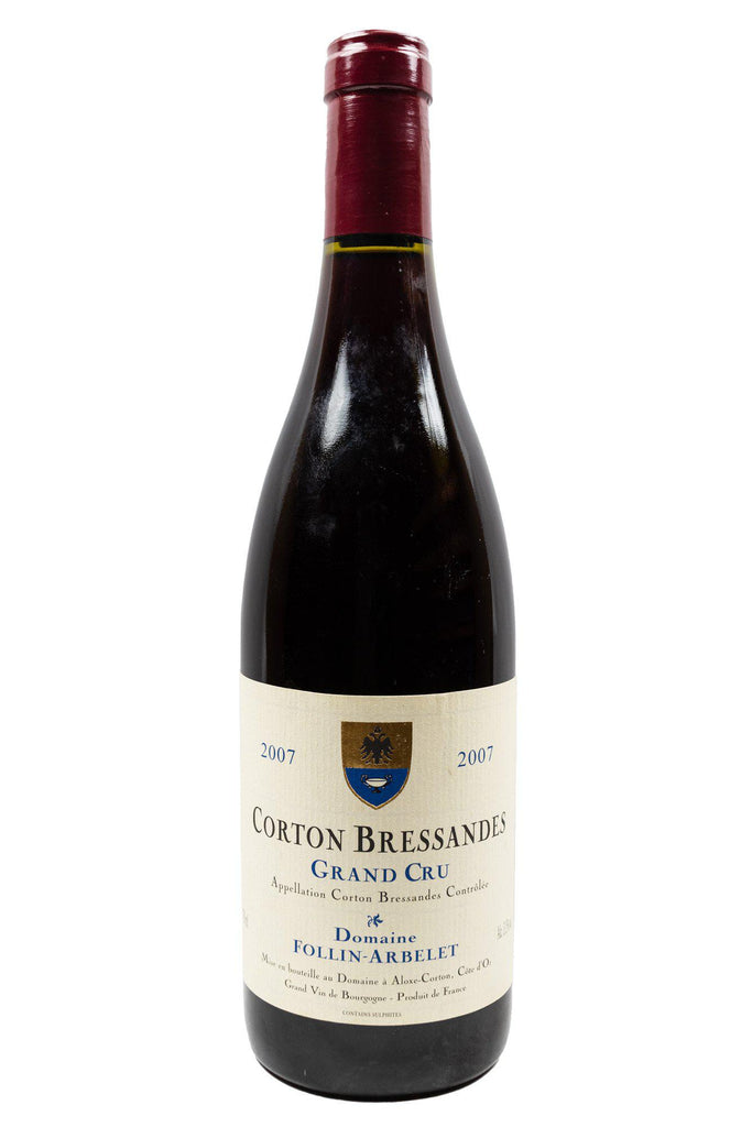 Bottle of Domaine Follin Arbelet, Corton Bressandes Grand Cru, 2007 - Flatiron Wines & Spirits - New York