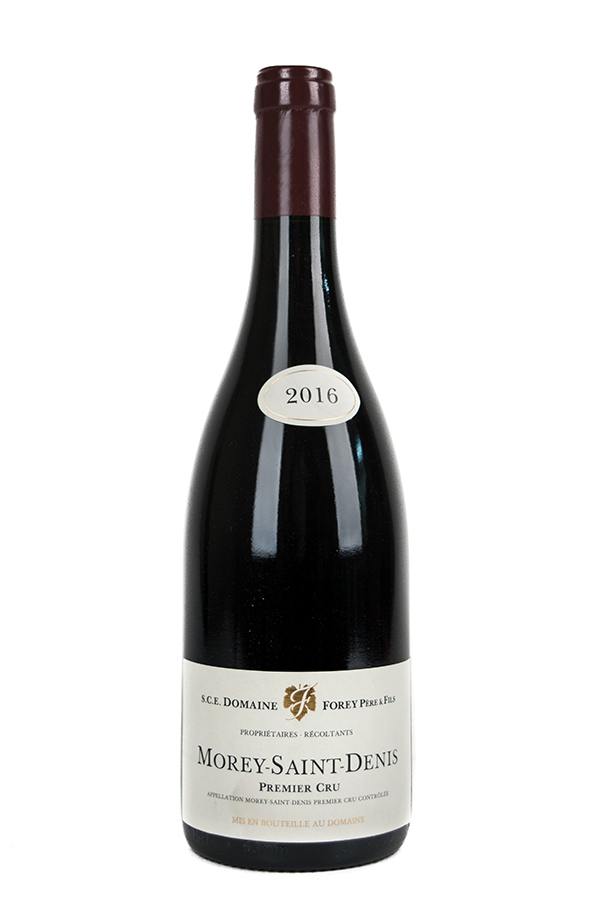 Bottle of Domaine Forey, Morey Saint Denis 1er Cru, 2016 - Flatiron Wines & Spirits - New York