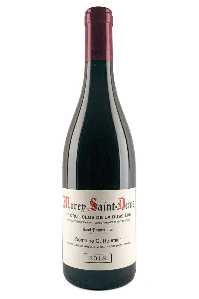 Bottle of Domaine Georges Roumier, Morey Saint Denis Clos Bussieres, 2018 - Flatiron Wines & Spirits - New York