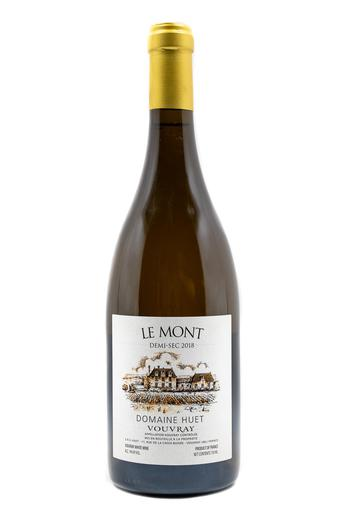 Bottle of Domaine Huet, Vouvray Demi-Sec Le Mont, 2018 - Flatiron Wines & Spirits - New York