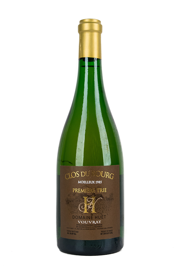 Bottle of Domaine Huet, Vouvray Moelleux 1er Trie Clos Du Bourg, 1985 - Flatiron Wines & Spirits - New York