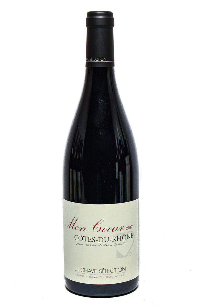 Bottle of Domaine Jean-Louis Chave, Cotes du Rhone Mon Coeur, 2017 - Flatiron Wines & Spirits - New York