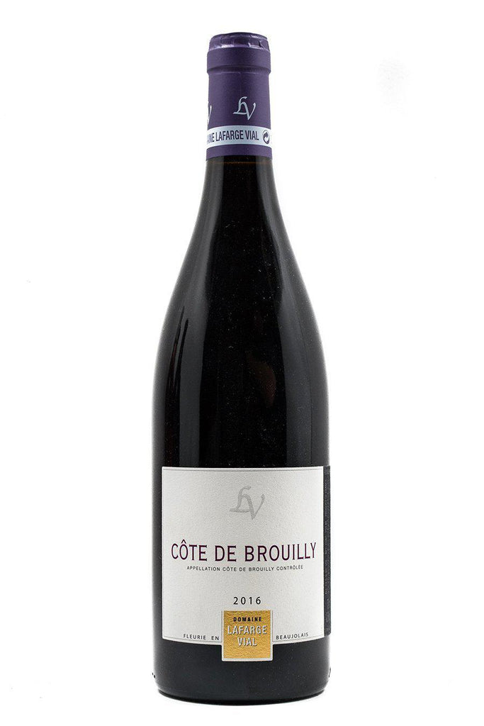 Bottle of Domaine Lafarge-Vial, Cote De Brouilly, 2016 - Flatiron Wines & Spirits - New York