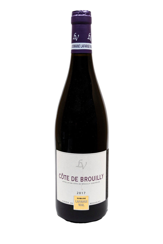 Bottle of Domaine Lafarge-Vial, Cote de Brouilly, 2017 - Flatiron Wines & Spirits - New York