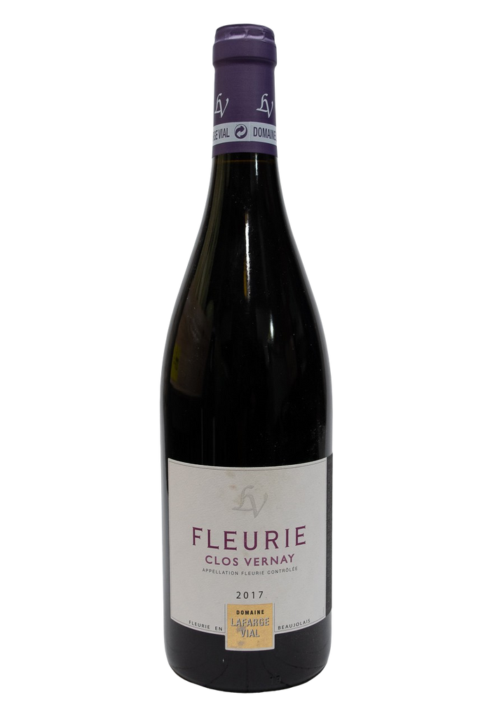 Bottle of Domaine Lafarge-Vial, Fleurie Clos Vernay, 2017 - Flatiron Wines & Spirits - New York