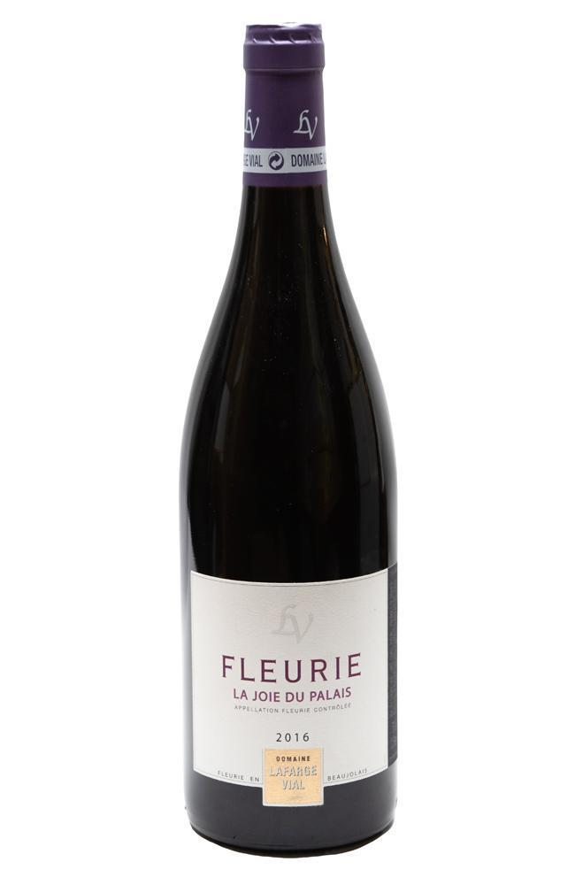 Bottle of Domaine Lafarge-Vial, Fleurie Joie du Palais, 2016 - Flatiron Wines & Spirits - New York