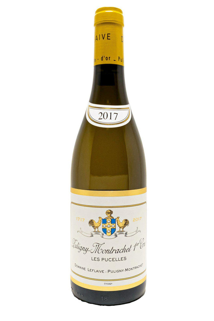 Bottle of Domaine Leflaive, Puligny-Montrachet 1er Cru Les Pucelles, 2017 - Flatiron Wines & Spirits - New York