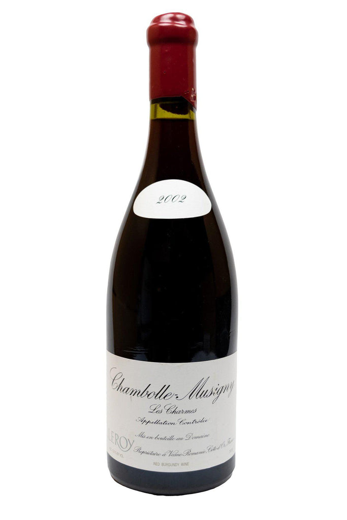 Bottle of Domaine Leroy, Chambolle-Musigny 1er Cru Les Charmes, 2002 - Flatiron Wines & Spirits - New York