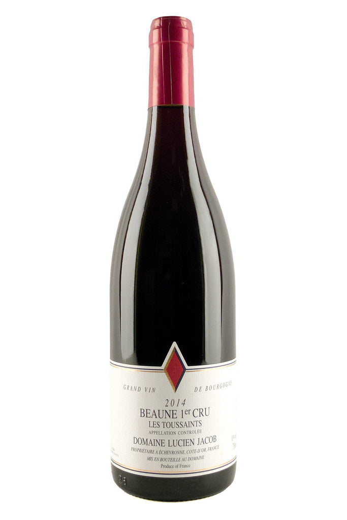 Bottle of Domaine Lucien Jacob, Beaune Rouge 1er Cru Les Toussaints, 2014 - Flatiron Wines & Spirits - New York