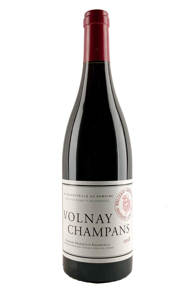 "Bottle of Domaine Marquis d'Angerville, Volnay 1er Cru ""Champans"", 2018 - Flatiron Wines & Spirits - New York"
