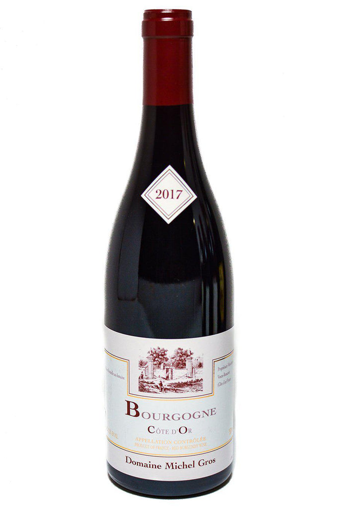 Bottle of Domaine Michel Gros, Bourgogne Cote D'or, 2017 - Flatiron Wines & Spirits - New York