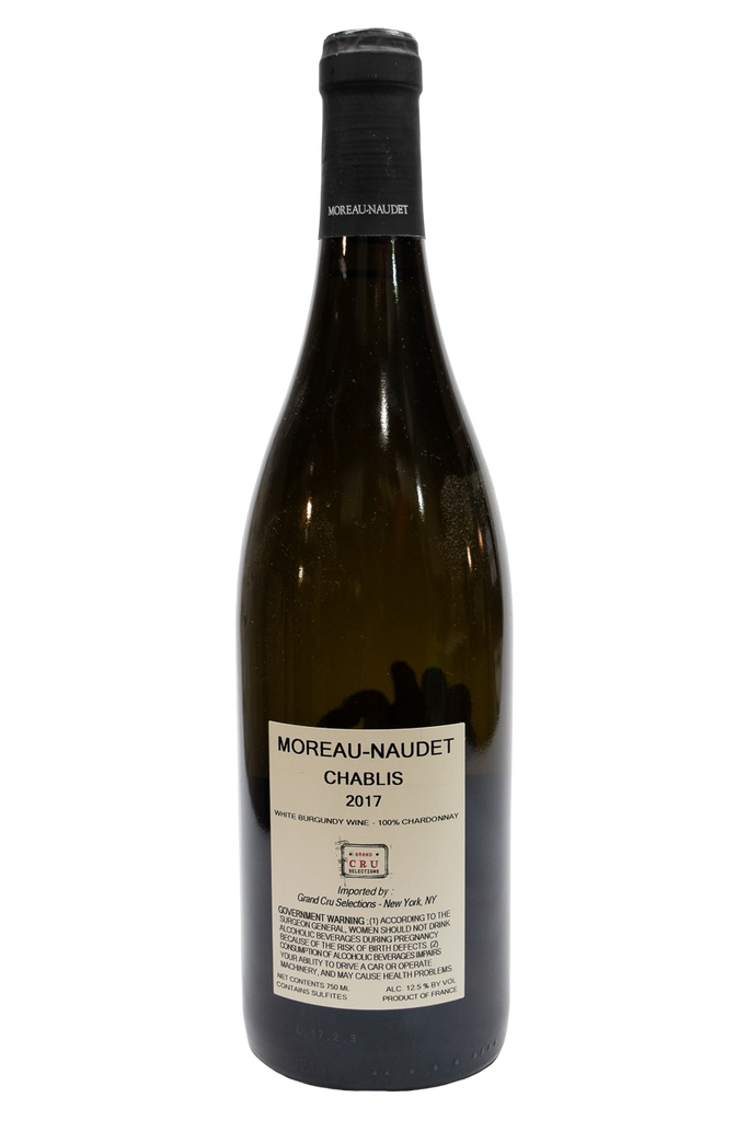 Bottle of Domaine Moreau-Naudet, Chablis, 2017 - Flatiron Wines & Spirits - New York