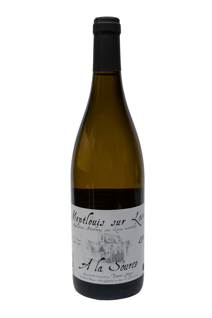 "Bottle of Domaine Moyer, Montlouis sur Loire ""A la Source"", 2018 - Flatiron Wines & Spirits - New York"