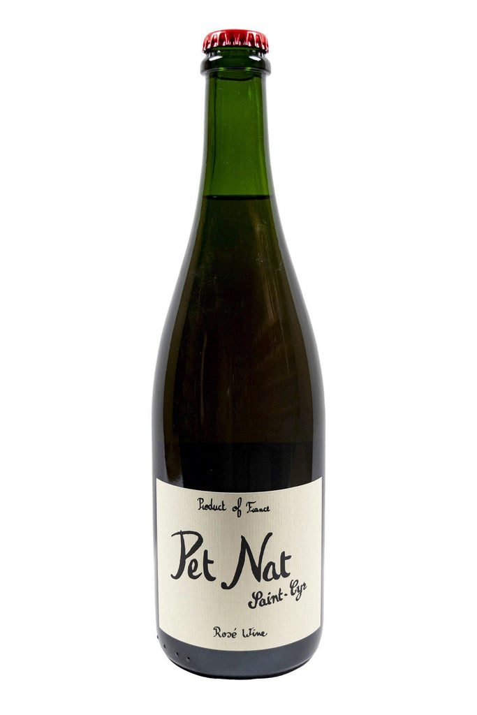 Bottle of Domaine Saint-Cyr, Rose Pet-Nat of Gamay, 2020 - Flatiron Wines & Spirits - New York