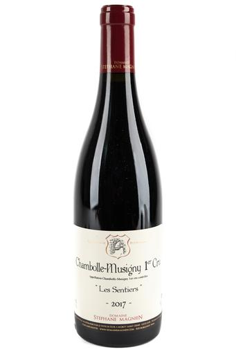 "Bottle of Domaine Stephane Magnien, Chambolle-Musigny 1er Cru ""Les Sentiers"", 2017 - Flatiron Wines & Spirits - New York"
