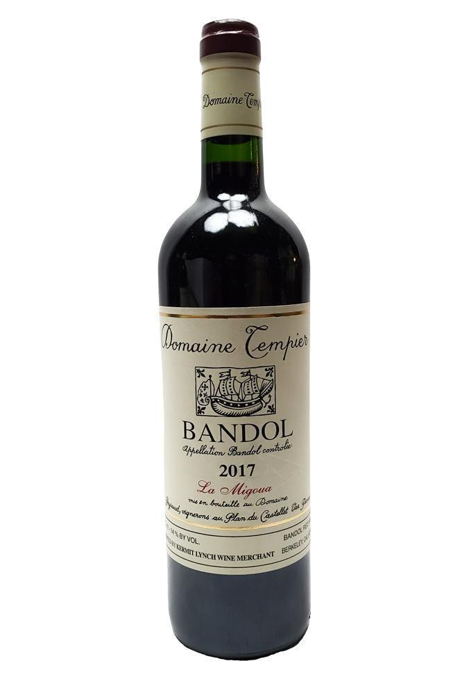 Bottle of Domaine Tempier, Bandol Rouge Migoua, 2017 - Flatiron Wines & Spirits - New York
