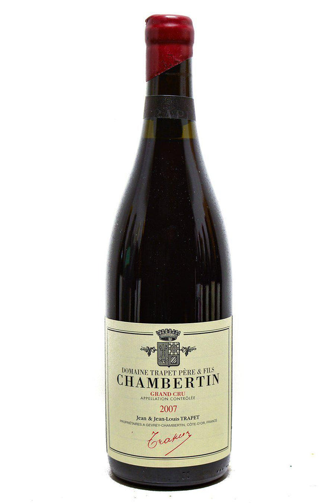 Bottle of Domaine Trapet Pere et Fils, Chambertin Grand Cru, 2007 - Flatiron Wines & Spirits - New York